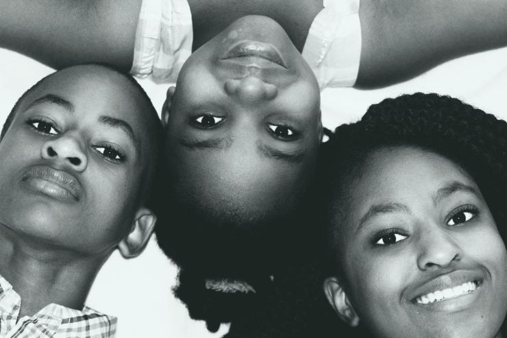 À nous trois